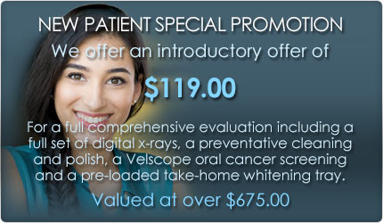 New Patient Special Promotion